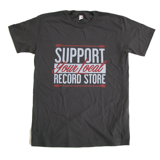 Image of Support Your Local Record Store T-Shirt