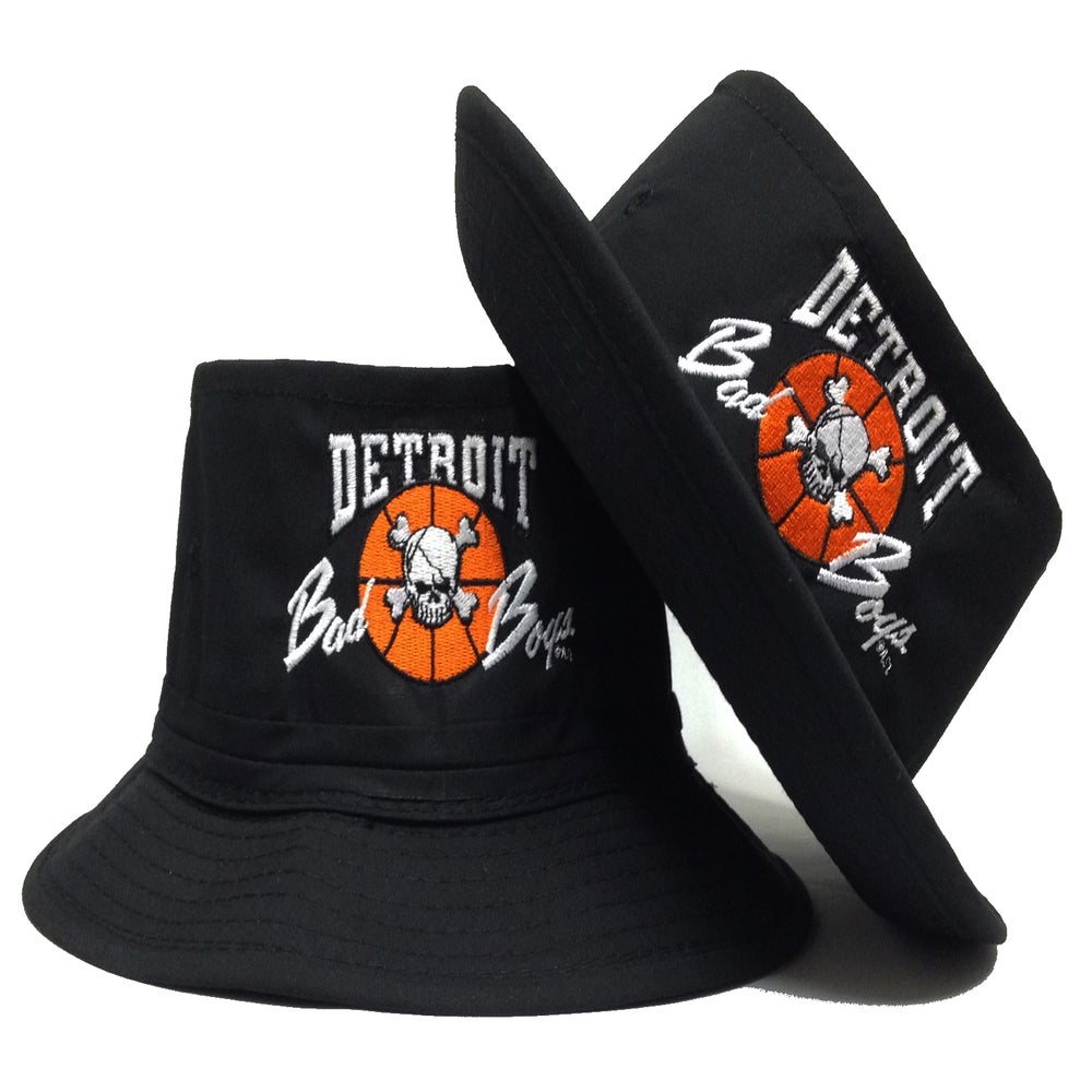 Image of Detroit Bad Boys Bucket Hat Detroit Pistons