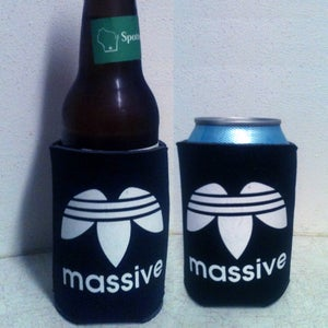 Image of Massive Logo Beer Cozy