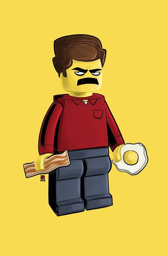 Image of Lego Ron