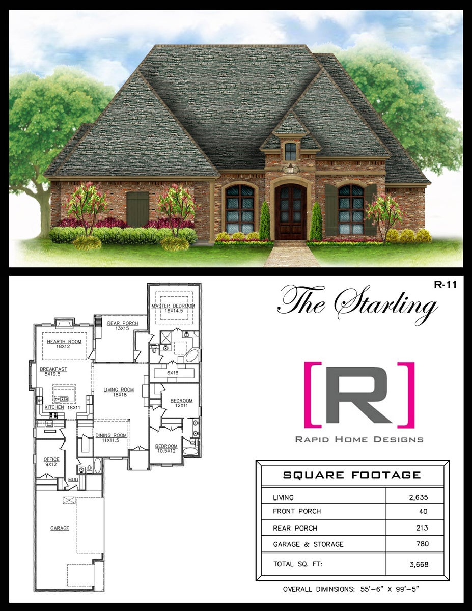 The Starling 2635sf Rapid Home Designs