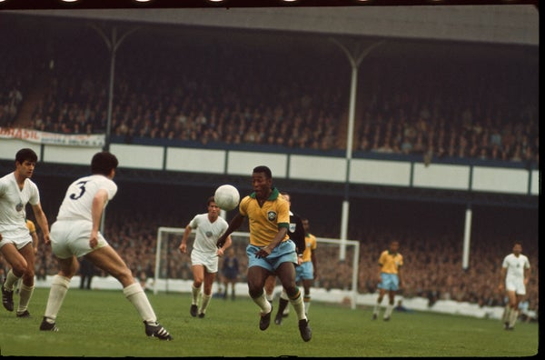 Image of Pele mystifies at the 1966 World Cup