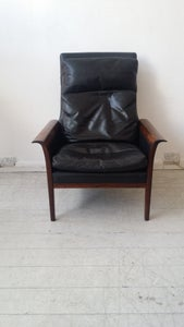Image of Hans olsen easy rosewood arm chair