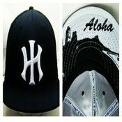"""Image of """"HI"""" Hustlaz fitted hats"""