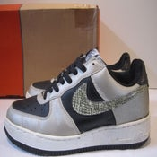 """Image of Nike Air Force One B """"3M Snakeskin"""" 2001, 9.5"""
