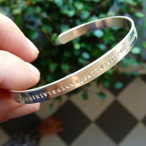 Image of Open bracelet. 5 mm