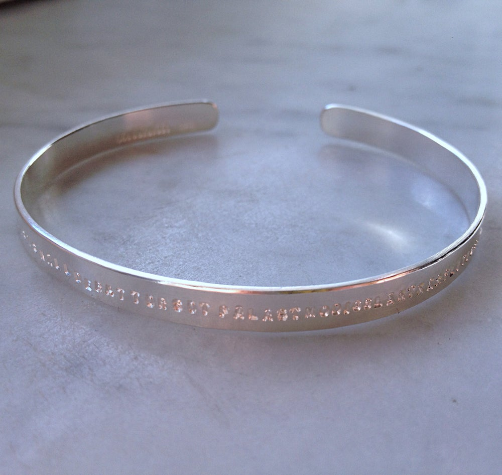 Image of Open bracelet. 5 mm