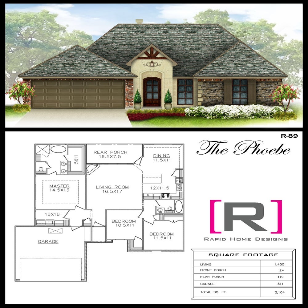 The phoebe 1450sf rapid home designs for Rapid home designs