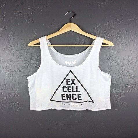 Image of Excellence Crop (white)
