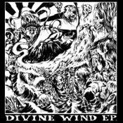 Image of  V/A - DIVINE WIND 4-WAY SPLIT EP (RED / BLACK SPLATTER VINYL)
