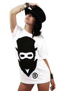 Image of Masked Logo (White) (Womens)