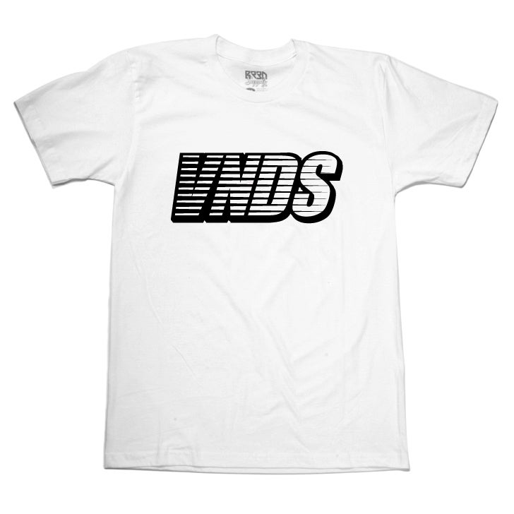 "Image of ""VNDS"" - T white/black"