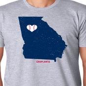 Image of My Heart Belongs to Atlanta Baseball