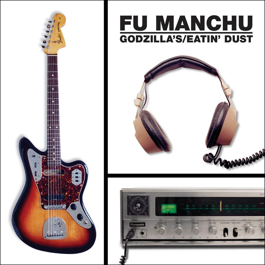 "Image of FU MANCHU ""Godzilla's/Eatin' Dust"" CD"