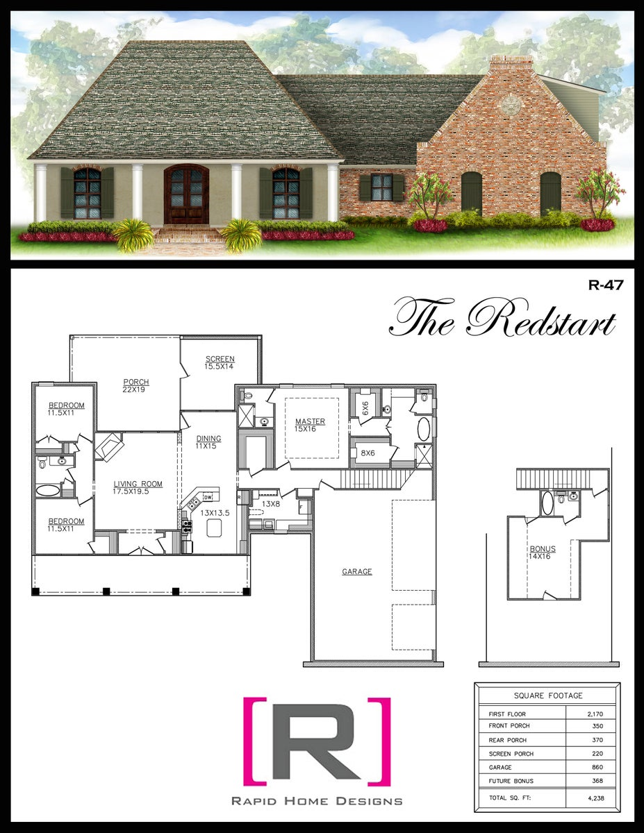The redstart 2170sf rapid home designs for Rapid home designs
