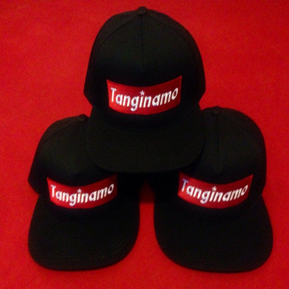 Image of TANGINAMO Box logo snapback