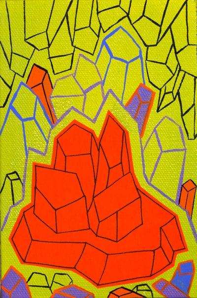 Image of Orange Crystals