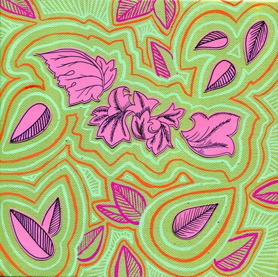 Image of Pink Leaves