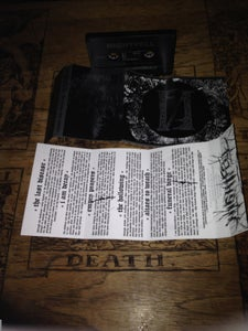 Image of NIGHTFELL 'The Living Ever Mourn' cassette