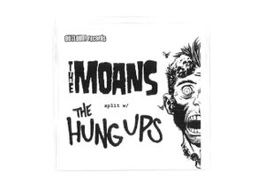 "Image of The Moans/The Hung Ups Split 7"" record"