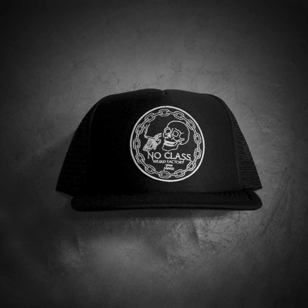 Image of NO CLASS TRUCKER HAT - BLACK