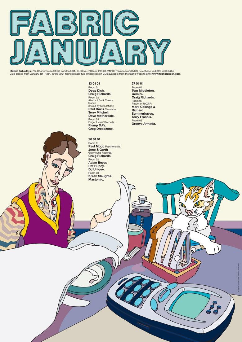 Image of Fabric January 2001