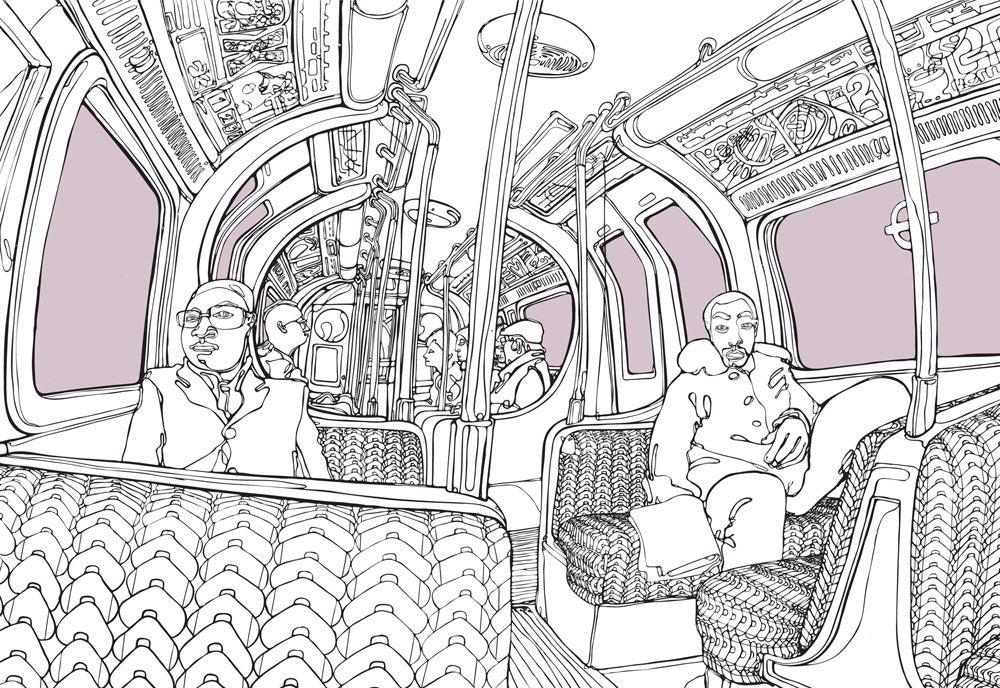 Image of Tube 1, London
