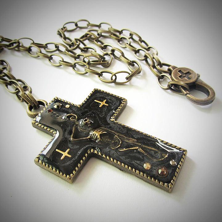 Image of Sinful Skellie Anti-Christ Pendant