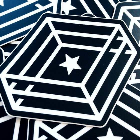 Image of Letter-Ring Sticker