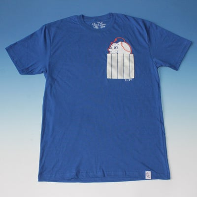 Image of Mr. Met pocket t-shirt