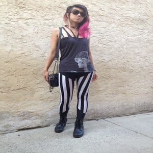 Image of Stripe leggings