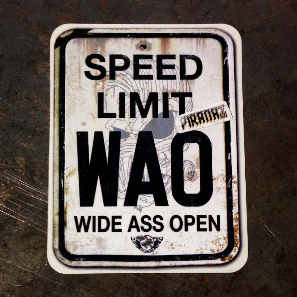 Image of WAO Sticker