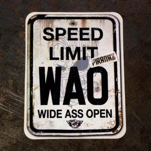 Image of WAO Sticker