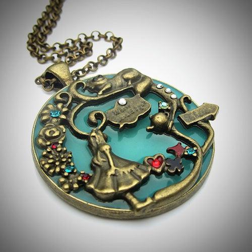 Image of Wonderland Victoriana Glow Bronze Pendant
