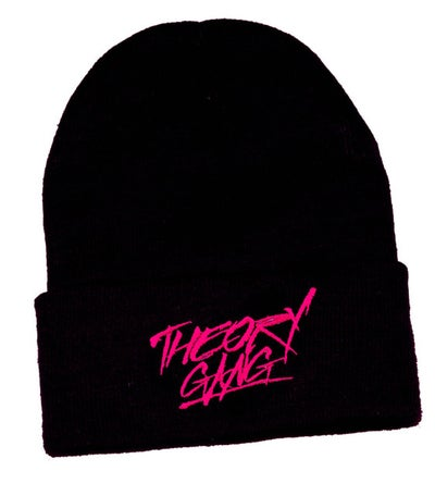 Image of Theory Gang Black & Pink Skully Hat