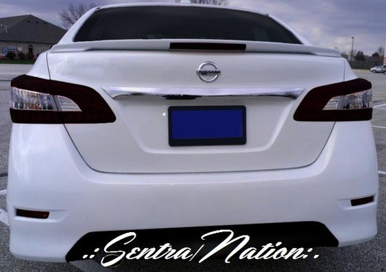 Image of (B17) 2013+ Sentra Rear Trunk SR spoiler