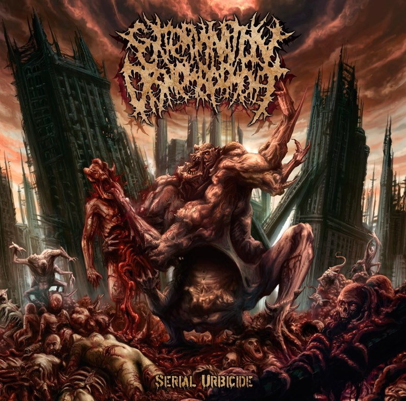 Image of EXTERMINATION DISMEMBERMENT - Serial Urbicide CD
