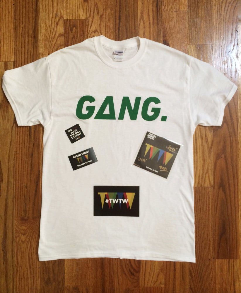 Image of The Will To Win Deluxe Edition T-Shirt Package
