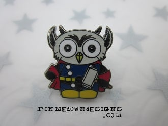 Image of Mini Thor Owl (Phish Animal Superhero #2 LE200)
