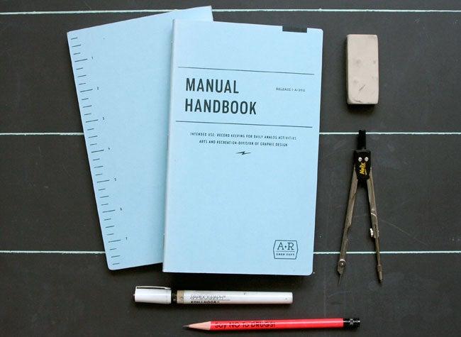 Image of MANUAL HANDBOOK - SKETCHBOOK
