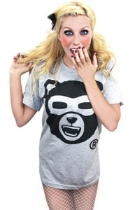 Image of Growl Von Grizzly (Heather grey) (Womens)
