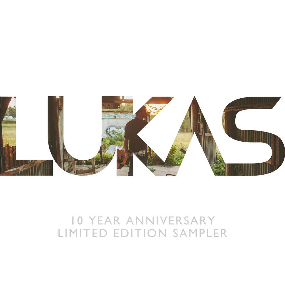 Image of LUKAS 10 Year Anniversary Limited Edition CD