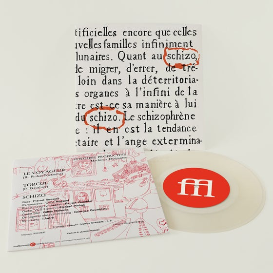 Image of SCHIZO - LE VOYAGEUR / TORCOL (FFL001)