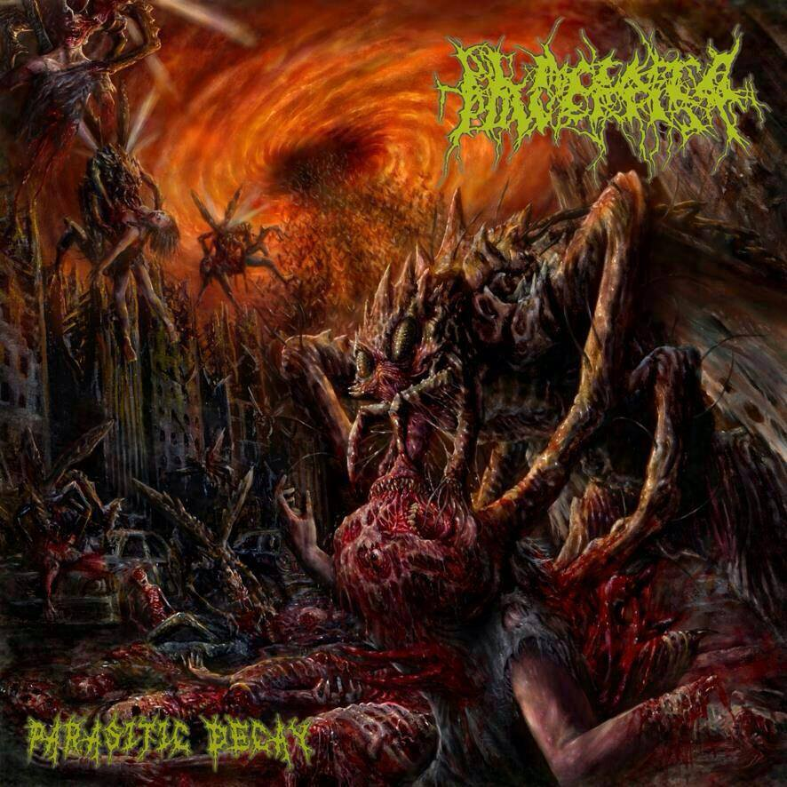 Image of PLACENTA POWERFIST - Parasitic Decay CD