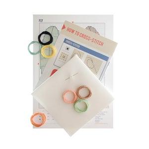Image of Fly cross-stitch kit