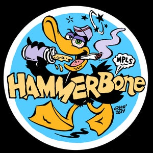 Image of Lootine/HammerBone Sticker