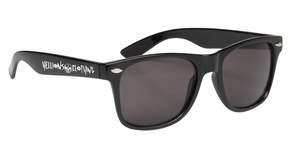 Image of Black Skull Sunglasses