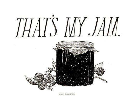 Image of That's My Jam / Mini Print