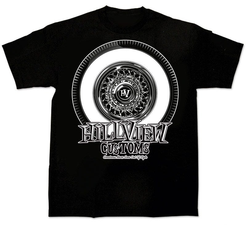 """Image of Hillview Keepin' it """"True"""" - Mens Shirt in BLACK (100% cotton)"""