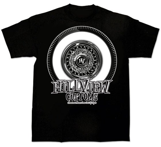 "Image of Hillview Keepin' it ""True"" - Mens Shirt in BLACK (100% cotton)"